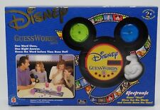 DISNEY GUESSWORDS (Guess Words) ELECTRONIC GAME ~ One Word Clues ~ Mattel 42800