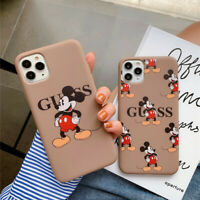 luxury brand Cartoon Funny Minnie Mouse Case For iPhone 11Pro XS Max 7 8 6 Plus