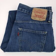 Levis 550 Relaxed Fit Jeans 31x30 Blue Mens Denim Jean Size Cotton Mexico Wash