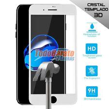 PROTECTOR CRISTAL TEMPLADO 3D PARA IPHONE 7 4.7 pulgadas BLANCO OPCIONAL