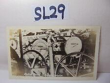 VINTAGE 1920'S US NAVY PICTURE POSTCARD CONTROL BOARD SUBMARINE INTERIOR SUB C39
