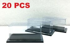 20 PCS Display Box Cases PVC for 1:64 Diecast Cars or Toy > Hot Wheels / Tomica