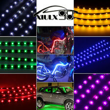 "12"" Flexible LED Strip Underbody Light Waterproof Car Boat Motor Truck Decor 12V"