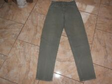 J1895 Levis 550 Relaxed Fit Tapered Leg Jeans W30 L34 Khaki Gut