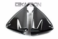 2013 - 2014 Ducati Hypermotard Hyerstrada Carbon Fiber Inner Side Panels - 1x1