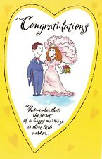 """Greeting Card - Wedding -  """"SECRET OF A HAPPY MARRIAGE"""" - by American Greetings!"""