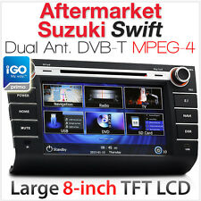 "8"" Suzuki Swift Car DVD Player GPS Digital TV DVBT Head Unit Stereo Radio System"