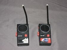 w8 Vintage Knight Rider Walkie-Talkie Set - Made In Hong Kong - Tested Working!!