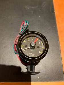 Rev counter Tachometer Classic 52mm Gauge 12 V