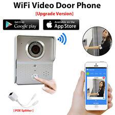 Wireless Wifi Doorbell IP Video Door Phone Intercom System for IOS Andriod APP
