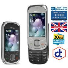 Nokia 7230 Slide 3G Desbloqueado Teléfono Móvil 3.2MP Bluetooth Negro