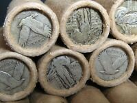 (ONE) FRB Denver Washington Silver 40 Quarter Roll Standing Liberty Ends