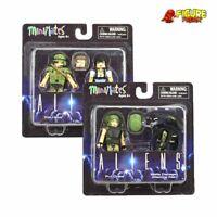 Aliens Minimates Series 1 Common Set (Hicks, Ripley, Drake & Damaged Alien)