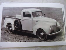 1941 FORD PICKUP  11 X 17  PHOTO  PICTURE