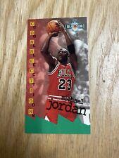 1995-96 Fleer Jam Session Michael Jordan Chicago Bulls Tall Card #13