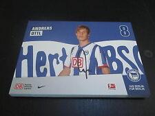 48838 Andreas Ottl Hertha BSC 2011-2012 original signierte Autogrammkarte