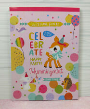 Sanrio HummingMint Kawaii Letter Pad Stationery penpals Happy Party