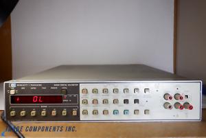 HEWLETT PACKARD 3455A DIGITAL VOLTMETER