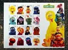 2019USA Sesame Street - Sheet of 16  Mint