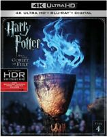 Harry Potter And The Goblet Of Fire [New 4K UHD Blu-ray] With Blu-Ray,
