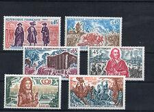 France 6 timbres non oblitérés gomme**  10  Figures historiques