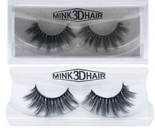 3D Mink Lashes Luxury Hand Made Mink Eyelashes Medium Mink False Eyelashes 1Pair