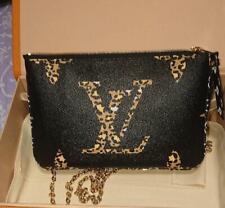 Louis Vuitton Shoulder Clutch Bag Pochette Jungle Giant Monogram Double M67874