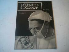 Sciences et avenir mai 1949 n°27 microscope electronique,l'avion atomique