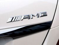 ☆  LOGO AMG mercedes STICKER 3D CHROME  , AUTO  EMBLÈME EN RELIEF☆