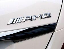 ☆  LOGO AMG mercedes STICKER 3D CHROME  , AUTO  EMBLÈME EN RELIEF☆