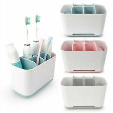 Large Toothbrush Holder Bathroom Toothpaste Storage Organizer Rack Pot Tidy