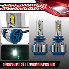 T1 H8 H9 H11 Turbo LED Headlight Conversion Kits 140w 6000k White Bulbs Canbus