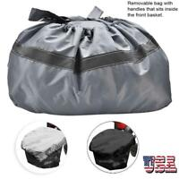 Professional Waterproof Mobility Scooter Front Basket Cover & Bag Reflective US