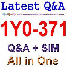 Designing, Deploying and Managing Citrix XenMobile 10 1Y0-371 Exam Q&A PDF+SIM