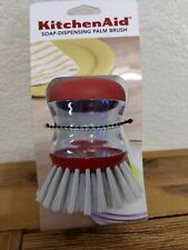 Kitchenaid Soap Dispensing Palm Brush Dishes Kitchen Red New