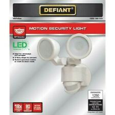 DEFIANT Motion Security Light 180 Degree Outdoor Integrated Timer/1250 Lumens