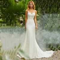 Spitze Mermaid Brautkleid Hochzeitskleid Kleid Braut Babycat collection BC722