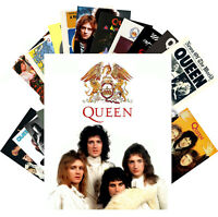 Postcards Pack [24 cards] Queen Rock Band Poster Photos Freddie Mercury CC1234
