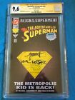 Adventures of Superman #501 Col- DC - CGC SS 9.6 NM+ - Signed by Kesel, Grummett