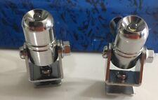2 CLEAR WHITE LED WINDSHIELD WIND SHIELD WIPER ARM LIGHTS EUROLITE TOUCAN 074010
