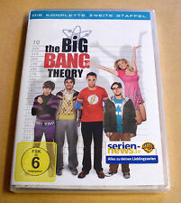 DVD Box The Big Bang Theory Staffel Season 2 Die komplette zweite Staffel Neu