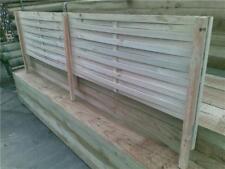 Woven Lattice Fence Extensions 2400x500 Garden DIY Screen out nosey neighbours