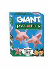 Pass The Pigs ultimate party game giant inflatable pigs can bounce around garden