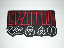LED ZEPPELIN EMBROIDERED BACK PATCH