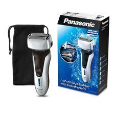 Panasonic ESSL 41 S 3 lame Wet//Dry da Uomo Elettrico Rasoio Cordless intelligenti-Argento