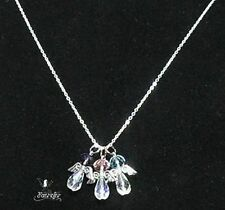 Crystal Silver Plated Handmade Costume Necklaces & Pendants