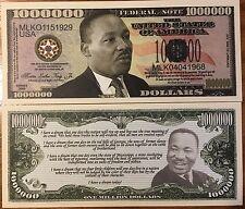 Martin Luther King Jr. Million Dollar Bill
