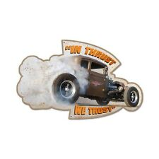 American Racing Torq Thrust Wheels Hot Rod Retro Plasma Sign Blechschild Schild