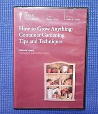 The Great Courses ~ How to Grow Anything: Container Gardening ~ Brand New!
