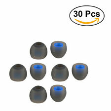 30pcs Headphone Bud Gel Rubber Silicone Replacement Tips Earbuds In-ear Earphone